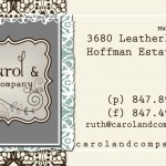 Carol &amp; Co. Business Card