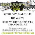 Green Table Gifts Gala!