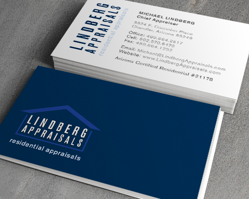 Lindberg Appraisals Business Cards