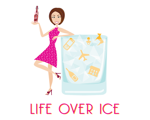 Life Over Ice Logo with Avatar The Savvy Socialista
