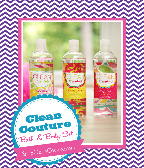 The Savvy Socialista Giveaway: Clean Couture Bath & Body Set
