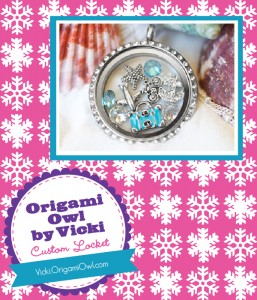 The Savvy Socialista Giveaway: Origami Owl by Vicki Custom Locket