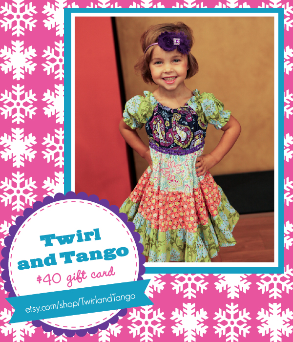 The Savvy Socialista Giveaway: Twirl and Tango $40 gift card