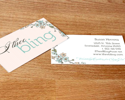 Print collateral archives page 3 of 4 the savvy socialistathe i thee bling business cards colourmoves