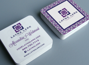 Layna Lark Business Cards