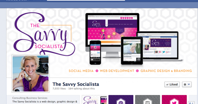 Facebook Cover Image The Savvy Socialista