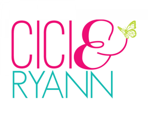CiCi and Ryann Logo by The Savvy Socialista