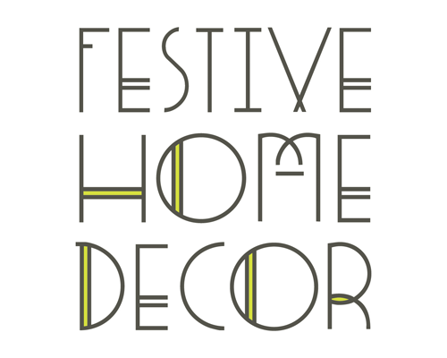 Awesome ... Festive Home Decor Logo By The Savvy Socialista ...