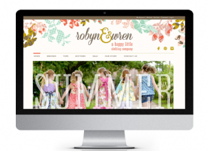 Robyn and Wren Website designed by The Savvy Socialista