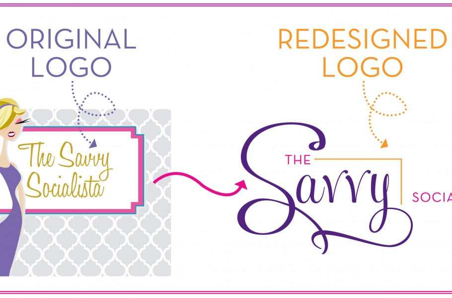Logo Redesign The Savvy Socialista