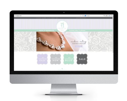 Peggy Jay Bridal Website