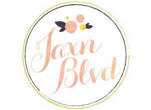 Jaxn Blvd Logo Design by The Savvy Socialista
