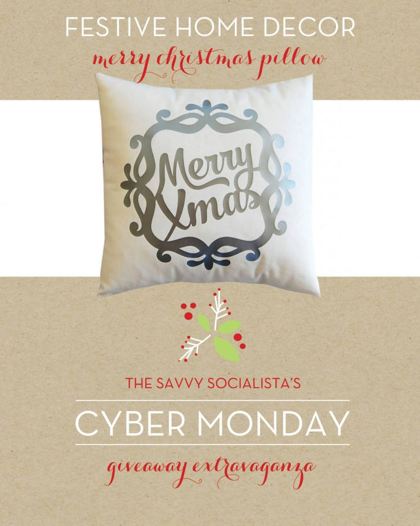 The Savvy Socialista Giveaway_Festive Home Decor