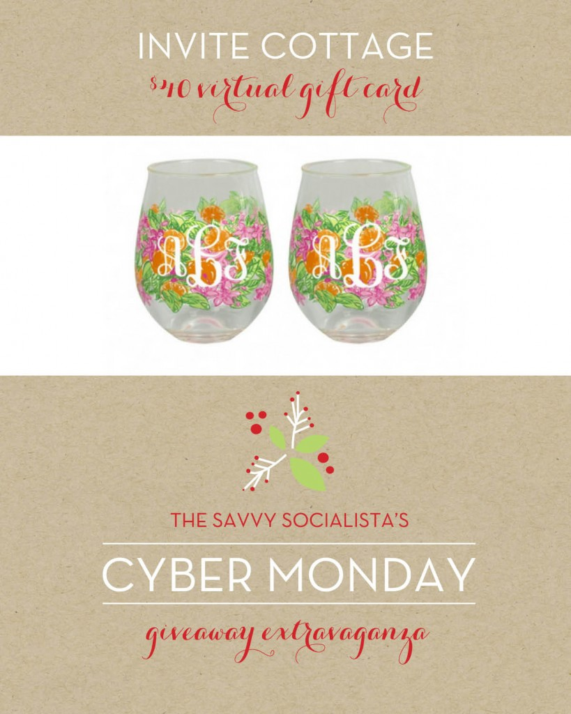 The Savvy Socialista Giveaway_Invite Cottage
