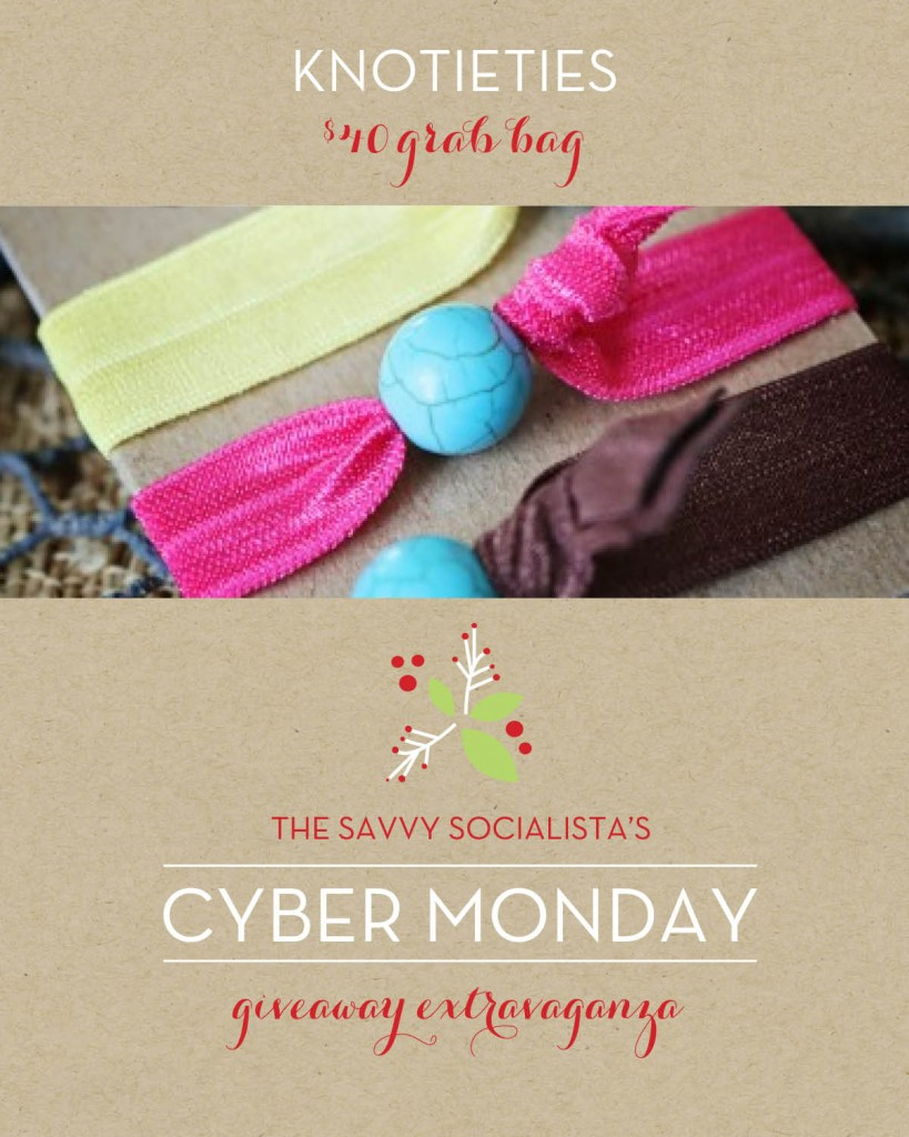 The Savvy Socialista Giveaway_Knotieties