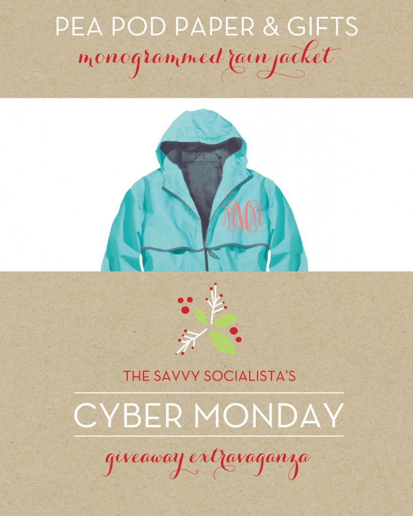 The Savvy Socialista Giveaway_Pea Pod Paper & Gifts