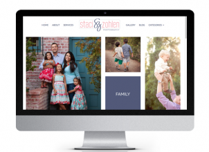 The Savvy Socialista Website Design Staci Zohlen Photography