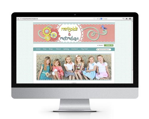 Marigolds and Marmalade Website