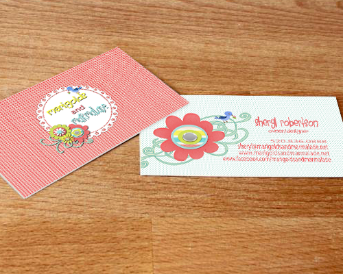 Marigolds & Marmalade Business Cards