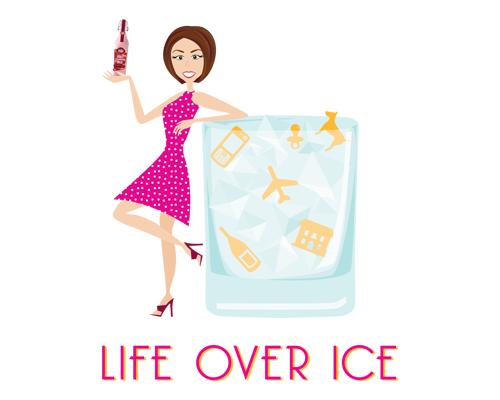 Life Over Ice Logo with Avatar The Savvy Socialista