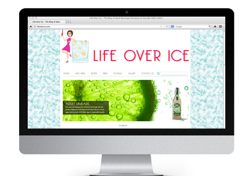 Life Over Ice Website