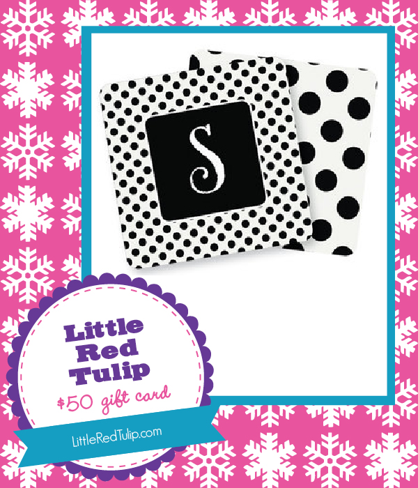 The Savvy Socialista Giveaway: Little-Red-Tulip $50 Gift Card