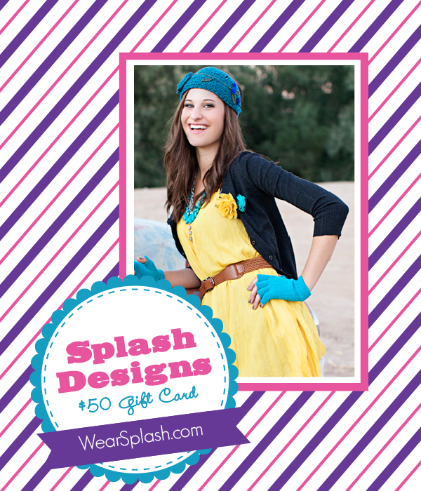 The Savvy Socialista Giveaway: Splash Designs