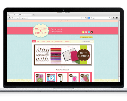 Mommy and Company Website