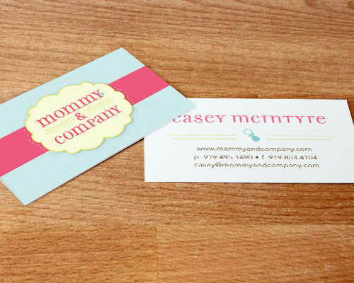Mommy and Company Business Cards
