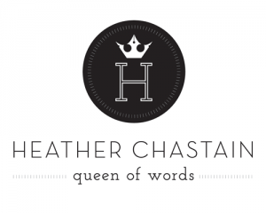 Heather Chastain Logo by The Savvy Socialista