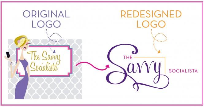 Logo Redesign The Savvy Socialista