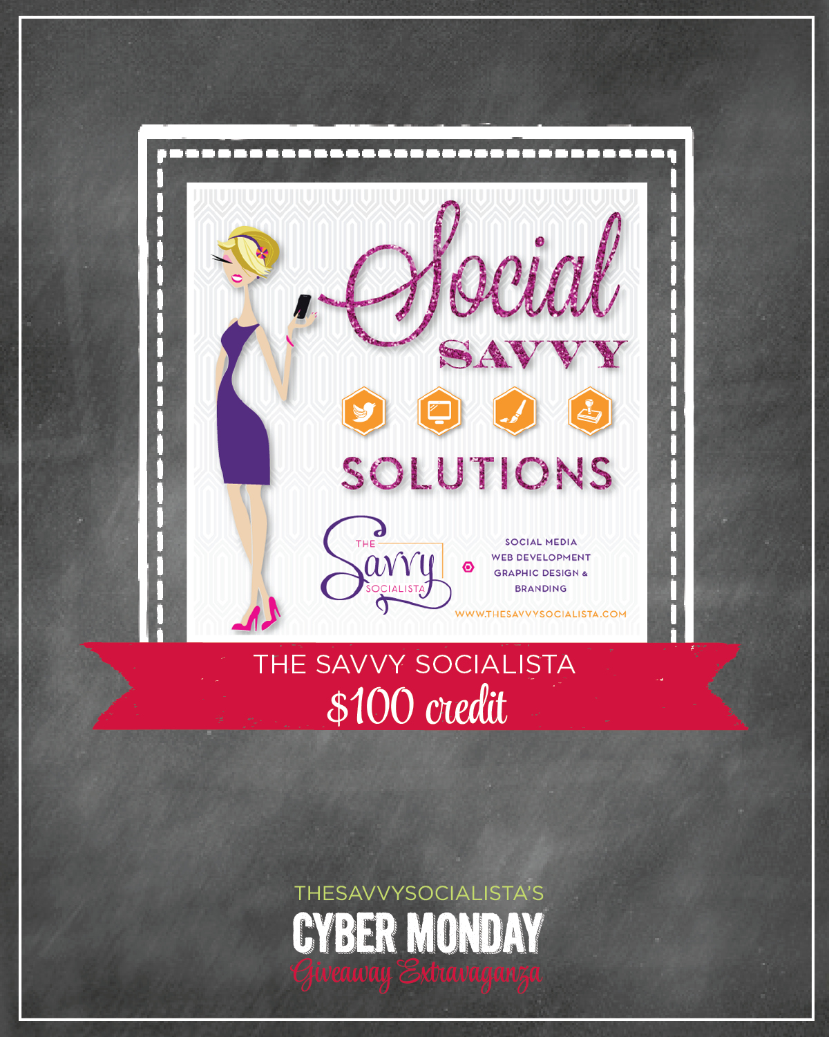 cyber monday sweepstakes the savvy socialista cyber monday giveaway the savvy 7884