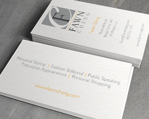Fawn Cheng Business Card