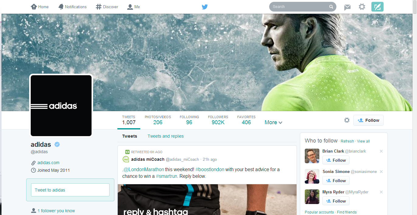 twitter's new layout