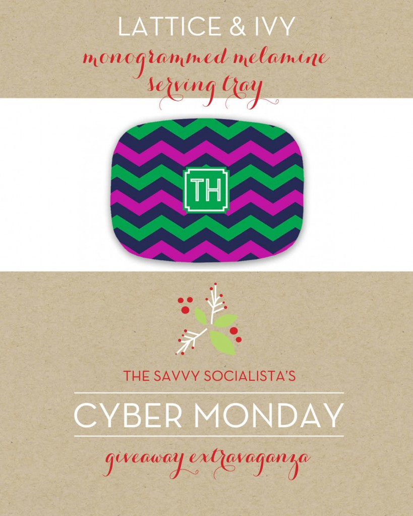 The Savvy Socialista Giveaway_Lattice & Ivy
