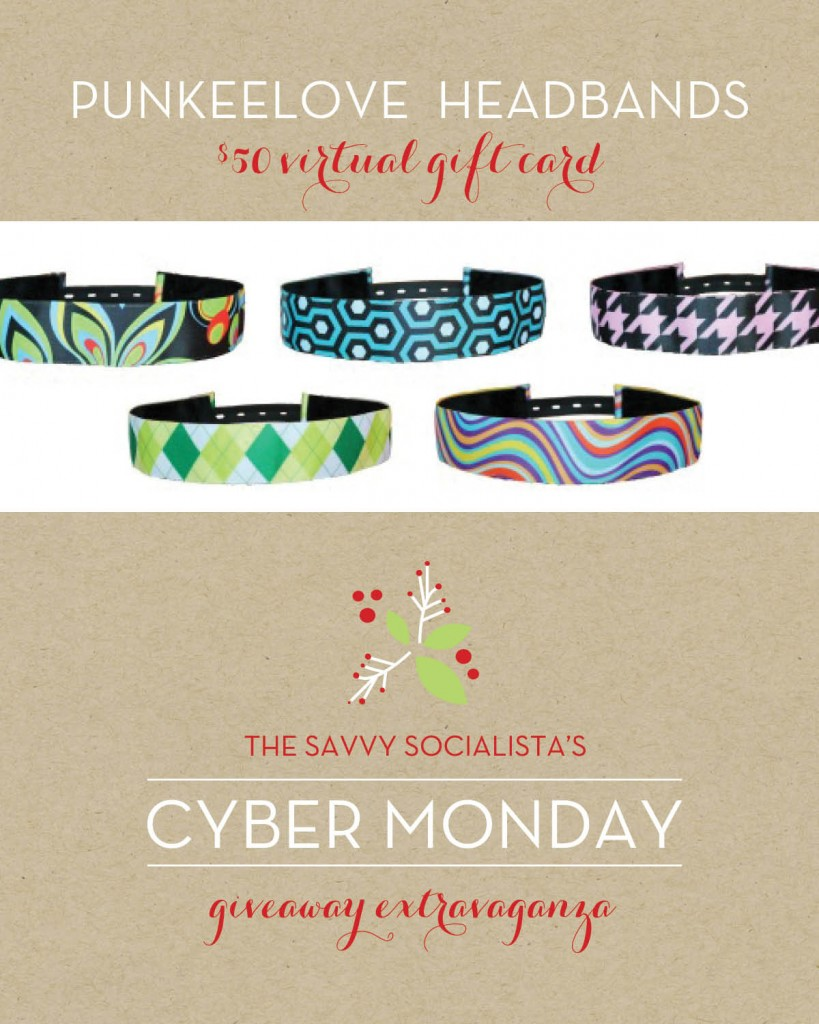 The Savvy Socialista Giveaway_Punkeelove Headbands