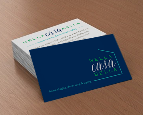 The Savvy Socialista Business Card Nella Casa Bella