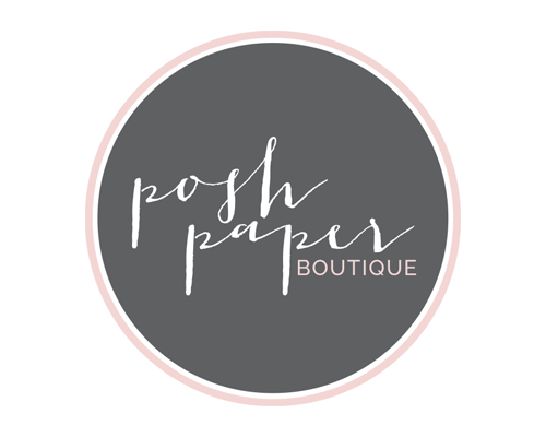 The Savvy Socialista Logo Design 3 Posh Paper Boutique