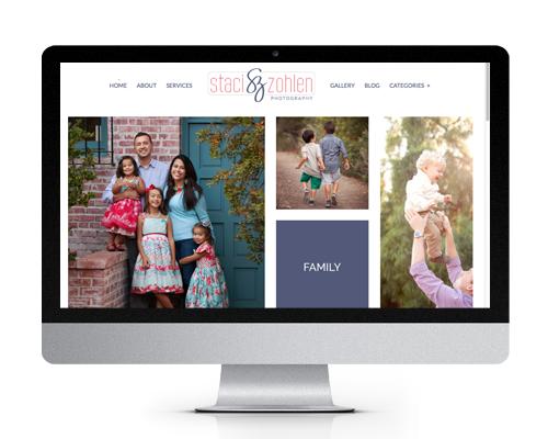 The Savvy Socialista Website Design Staci Zohlen Photography
